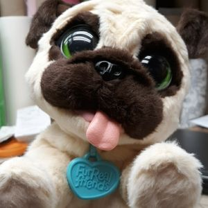 Hasbro Toys - Fur Real pet JJ the jumping pug dog